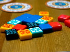 4 Lessons from Azul for Aspiring Board Game Designers Board Game Geek, Board Games, Game Engine, Game 4, Strategy Games, Colorful Drawings, Game Design, Cool Designs, Designers