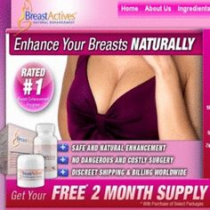 Breast enhancement creams are typically used with breast enhancement pills. They could boost the impacts of the pills or can be used separately to boost the dimension and suppleness of the Breasts. Breast Actives cream help obtain women bigger, stronger Breasts normally. The creams include a well-known mixture of natural herbs and exotic plant removes that has been shown to improve bust dimension by stimulating hormones in the physique.