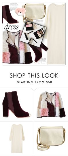 """""""Winter Dresses Under $100"""" by j-sharon ❤ liked on Polyvore featuring Aquazzura, Florence Bridge, MANGO, Tommy Hilfiger, MICHAEL Michael Kors and under100"""