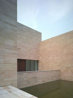 Liangzhu Culture Museum by  David Chipperfield Architects.