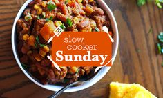Most people think of slow cookers for meat stews and braises. And while they're great for that, they're also great for lots of plant-based meals. Check out these vegan slow-cooker recipes that will
