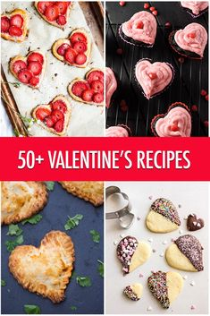 Over 50 Valentine Recipe Ideas For Your Nearest and Dearest! Valentines Day Treats, Valentine Recipes, Valentine Cake, Romantic Desserts, Canadian Food, Best Dessert Recipes, Healthy Desserts, Game Day Food, Pastry Recipes