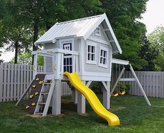 Imagine THAT! Playhouses | The Explorer's Treehouse