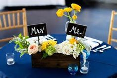 mr and mrs sweetheart table decoration - Yahoo Image Search Results