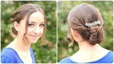 How to Create a Flipped Fishtail Updo