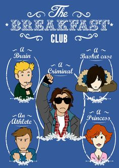 The Breakfast Club - Elisabetta Borseti The Breakfast Club, Breakfast Club Quotes, The Princess Bride, Albert Einstein Quotes, Classic Tv, Classic Movies, Teen Movies, Movie Tv, Movies Showing