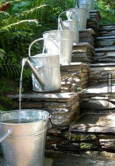 Cool water fountain idea