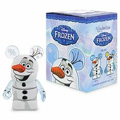 Disney Vinylmation Olaf 3'' Figure - Frozen   Disney StoreVinylmation Olaf 3'' Figure - Frozen - For this limited edition 3'' Frozen Vinylmation figure, Olaf has become a snowman for all seasons. The blind box could contain the wintry Olaf, or perhaps it will be the rarer summer one.