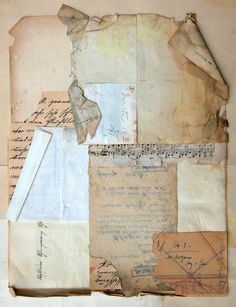 W. Strempler, Collage Untitled 2014