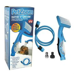 Pet Zoom Bath and Groom Brush for Dogs --- You can see this great product. (This is an affiliate link and I receive a commission for the sales) Dog Grooming Supplies, Pet Grooming, Nursing Supplies, Dog Wash, Dog Itching, Dog Dental Care, Dog Training Pads, Dog Shower, Dog Shedding