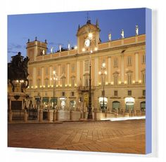 Inch Print - High quality print (other products available) - Piazza dei Cavalli, Piacenza, Emilia Romagna, Italy, Europe - Image supplied by WorldInPrint - Photo Print made in the USA Poster Prints, Framed Prints, Canvas Prints, Made In America, Photo Mugs, Fine Art Prints, Australia, Italy, Mansions