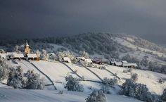 Plesa, Suceava, Romania (by Olari Ionut Photography) Bulgaria, Romania, Winter Wonderland, Snow, Country, Travel, Outdoor, Beautiful, Google