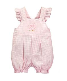 Look at this #zulilyfind! Pink Peek-A-Boo Shortalls #zulilyfinds