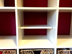 How to Add a Shelf to an IKEA Expedit - 4 shelves for only $20! | www.allthingsgd.com