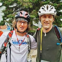 Party on Wayne...Homie (on the left) after last year's Michigan Adventure Race's Epic edition. Come race at Sleeping Bear Dunes September 17th!#miadventurerace #hikepaddlebike