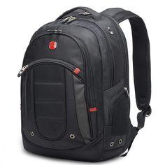 "Laptop Backpack Business College School Travel 15.6""Notebook Padded Sleeve Black #LaptopBackpack"