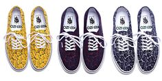 Luxury brand Kenzo teamed up with Vans for a pretty sick collaboration. The Vans Authentic model received a floral pattern, in three different colors. These shoes will be released mid August 2012 at select retailers. Kenzo, Cool Style, My Style, Vans Authentic, Crazy Shoes, Rolling Stones, Shoes Sneakers, Converse, High Heels