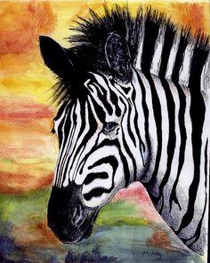 zebra by ~amberiverock on deviantART