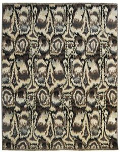 This Ikat Rug Is Hand Crafted By Skilled Artisans In India Using The Finest  Quality New