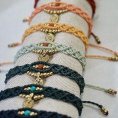 """Резултат с изображение за makramee """"bracelet"""""""