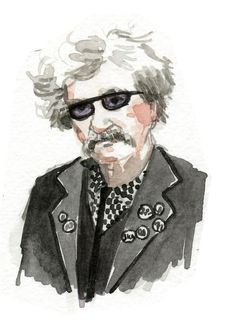 Punk Rock Mark Twain, by Wendy MacNaughton for California Bookstore Day and Chronicle Books