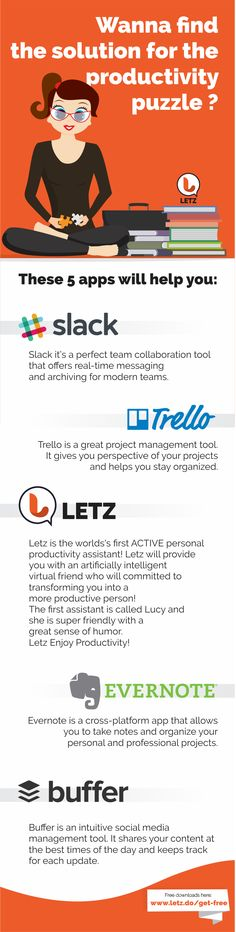 These apps will boost your productivity in a WEEK! Give yourself a chance and Get Things Done!  Cheers to PRODUCTIVITY!