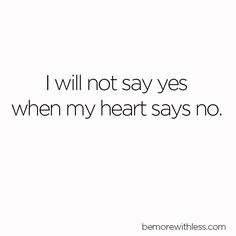 """""""Those of you who often over-commit or feel too scattered may appreciate a new philosophy I'm trying: If I'm not saying """"HELL YEAH!"""" about something, then say no. """" Excerpt from 10 Simple Ways to Help You Say No"""