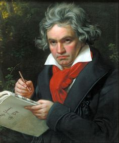 Ludwig van Beethoven. Surprised to learn he was deaf. I enjoy the movie Immortal Beloved