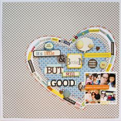 Layout by Patricia Roebuck using Lily Bee Design  #scrapbooking #lilybeedesign
