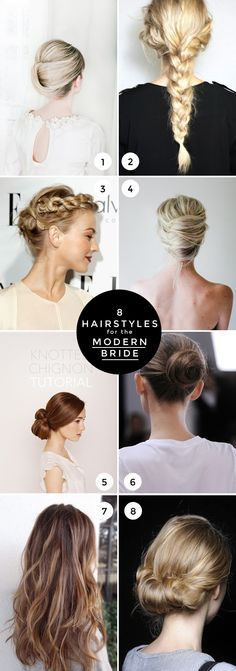 8-hairstyles-for-the-modern-bride.jpg (600×1707)