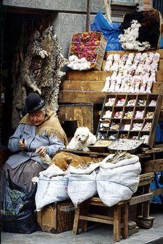 Vendor, South America