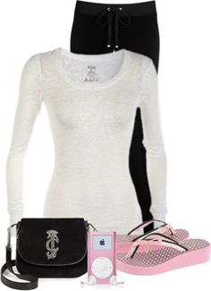 """""""Untitled #133"""" by denise-schmeltzer ❤ liked on Polyvore - this is more my style, i love my flippy floppies"""