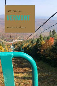 Fall travel in Vermont #travel #vermont #familytravel Cool Places To Visit, Places To Go, New England Fall Foliage, Top Destinations, Vermont, Family Travel, Travel Inspiration, Skiing, Travel Tips