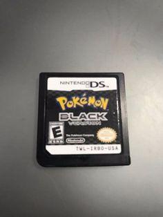 Pokemon Black Version (Nintendo DS) Lite DSi XL 3DS 2DS