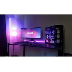 """1,073 Likes, 3 Comments - Mal - PC Builds and Setups (@pcgaminghub) on Instagram: """"What a breathtaking colour! An overall clean setup. By: u/iisaiahrready8. Check out the link in…"""""""