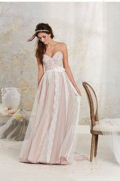 Wedding gown by Alfred Angelo Modern Vintage