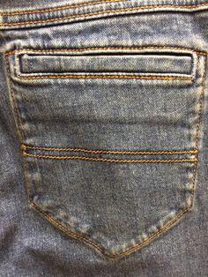 Vintage denim pocket detail