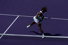 Serena Williams ... In your face tennis!!  photo © Chaz Niell