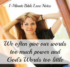 1-Minute Bible Love Notes: He Is, We Aren't