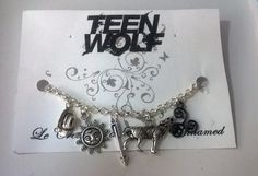 Teen Wolf Bracelet by FandomCreation on Etsy