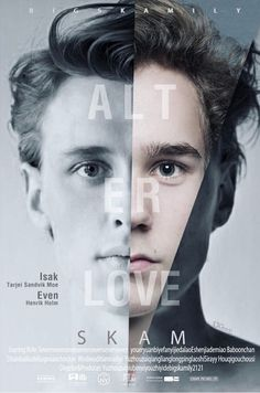 "from SKAM ""Love is Everything"" Even and Isak - min side Series Movies, Movies And Tv Shows, Tv Series, Lgbt, Even And Isak, Henrik Holm Skam, Skam Tumblr, Isak Valtersen, Cute Love"