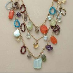 DIY Jewelry Idea  How cute would this be without the seed beads!