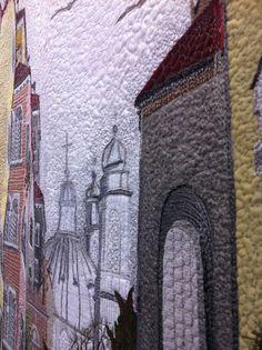 Artwork at @Yesfir Esther Esther Solkan Patchwork Meeting 2012