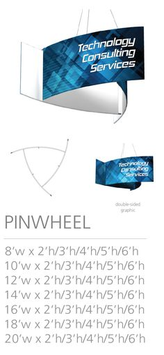 3D HANGING STRUCTURE - PINWHEEL #Trade#show #Displays #Hanging #Structure. Call us today for a quote. 1-866-7ULTIMA (1-866-785-8462) Pinwheels, Quote, Messages, 3d, Quotation, Qoutes, Wind Spinners, Text Conversations