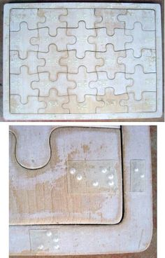 Puzzles et jeux solo - Enfant-Aveugle