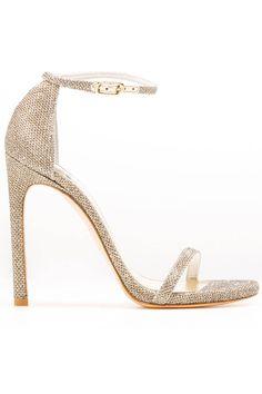 Stuart Weitzman sandals, $398, stuartweitzman.com. Courtesy Stuart Weitzman - I love it HarpersBAZAAR.com
