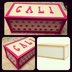 DIY baby toy chest. Ikea toy chest makeover. #diy #ikeamakeover #toychest