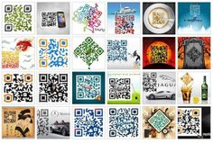 Creative QR Codes on display!