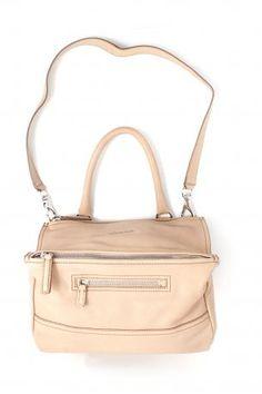 Givenchy Pandora bag medium black. Goat leather hand bag or shoulder bag in  beige color 405d6d2998