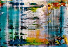 Gerhard Richter » Art » Paintings » Abstracts » Abstract Painting » 858-4